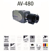 AV-480HD Analog Box Kamera